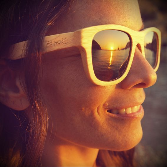 Root Ibiza benirras wood sunglasses