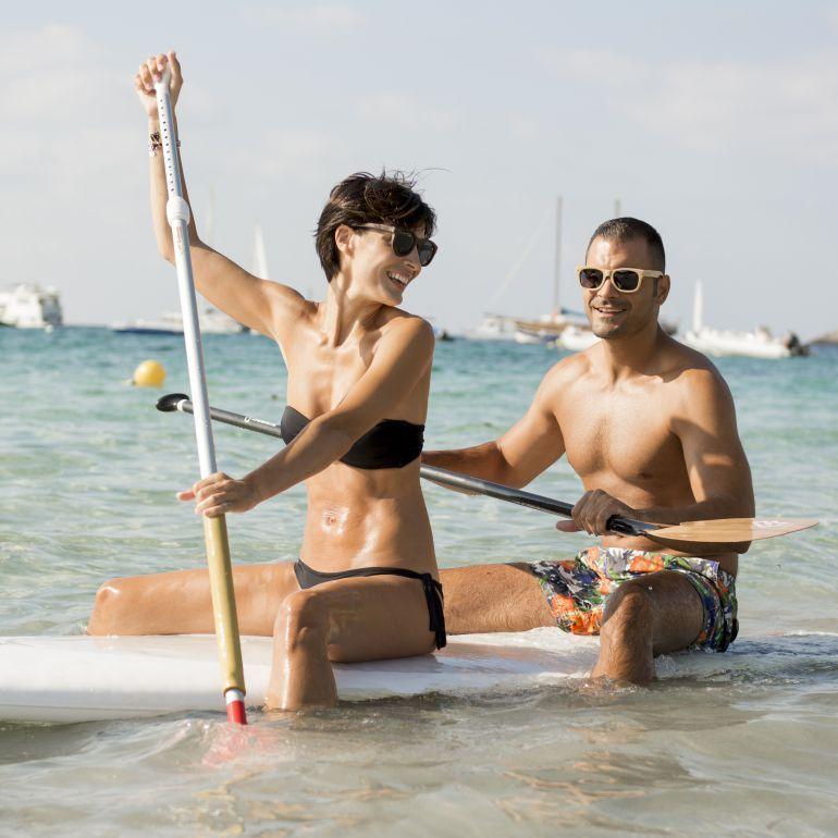 Root Ibiza gafas de madera dumu Salinas