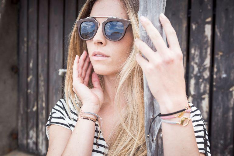 Gafas de sol de madera modelo Botafoch