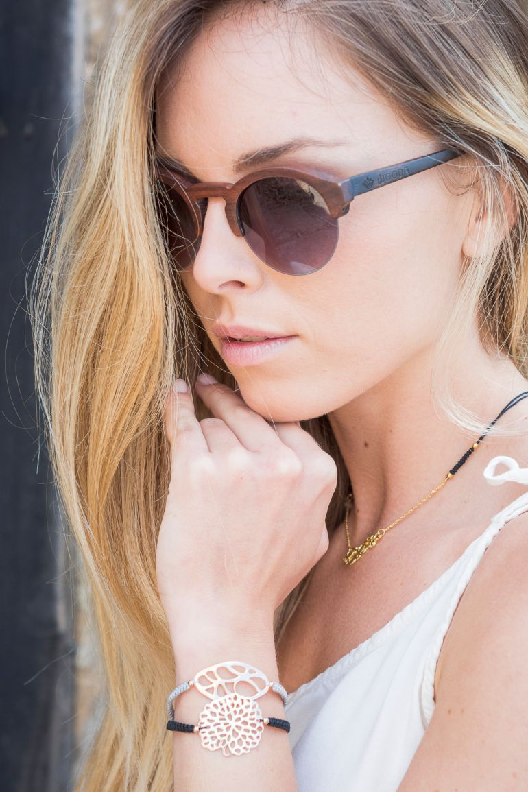Gafas de sol de madera modelo Carbo de Wooda Sunglasses